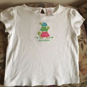"""Short stack"" Gymboree shirt 4T"